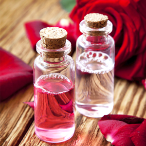 glycerin and rose water