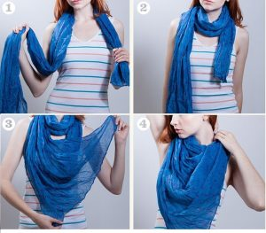 Waterfall-scarf-Knot