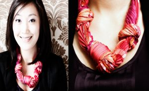 scarf as necklace