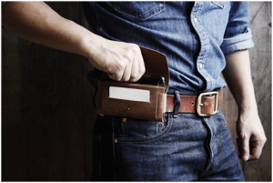 Clipping cell phone to the belt